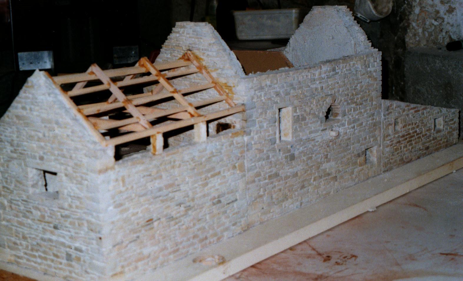 R aliser une miniature mode d 39 emploi miniature en pierre - Gros oeuvre d une maison ...